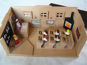 Hračky - Stará škola - drevená hračka pre deti - 234856
