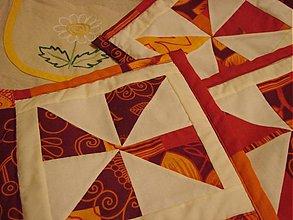 Úžitkový textil - Bordová chňapka - 2356363
