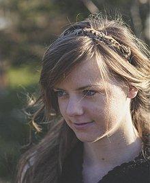 Ozdoby do vlasov - Čelenka s perím - 2356714