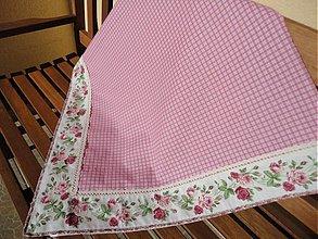 Úžitkový textil - Veľký romanticky obrus - 2366685