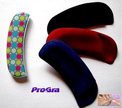 Drogéria - Pilník na nechty - tyrkysový s pestrofarenými krúžkami - 2373160