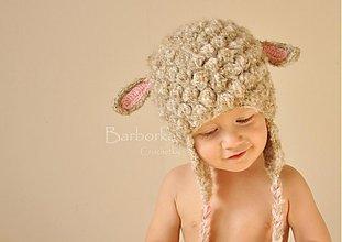 Detské čiapky - ovecka - 2373710