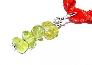 Náhrdelníky - olivín prívesok extra - 2375350