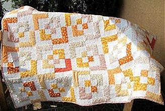 Úžitkový textil - Bento Box Quilt - ukážka vzoru - 237565