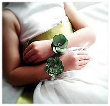 Náramky - Družičky v zelenom:-) - 2375695