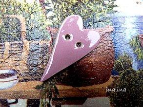 Materiál ručne robený - Gombík - 2376126