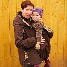 Kabáty - VSADKA do softshellové bundy/vesty PRO NOŠEŇÁTKA - 2377077