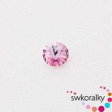 Korálky - RIVOLI 12 mm SWAROVSKI ® ELEMENTS -light rose - 2381531