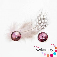 Korálky - RIVOLI 12SWAROVSKI ® ELEMENTS Crystal Antique pink - 2382403