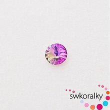 Korálky - RIVOLI 12 SWAROVSKI ® ELEMENTS 1122-vitrail light - 2383487