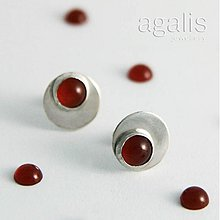 Náušnice - Elegantne hravé (Ag 925) - 2384034