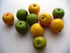 Iný materiál - jabĺčka /3ks - 2385590