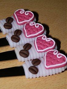 Pomôcky - Lyžičky milujem kávu (na latte) - 2385846