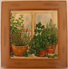 Obrázky - Obrázok - Bylinky v okne I. - 2387384