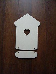 Tabuľky - Tabuľka na dvere - domček 1 - 2388016