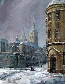 Obrazy - Žilina v zime - 2390855