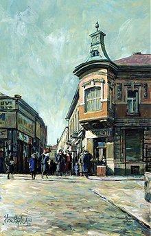 Obrazy - Hometown, Farská ulička - 2390992