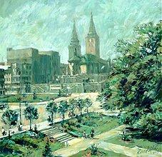 Obrazy - Hometown, Farské schody - 2392186