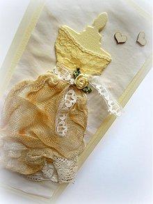 Papiernictvo - Vintage nevesta... - 2392710