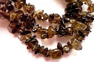 Minerály - Minerální zlomky 45 cm - záhněda - 2395001
