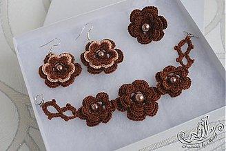 Sady šperkov - Čokoládová súprava - 2395185