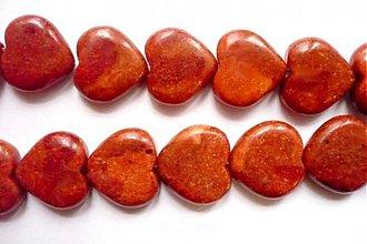 Minerály - Korál - vrtaný korálek 18 mm, 1 ks - 2400792