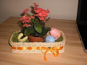 Košíky - Obdlžnikový košíček- na dodekorovanie - 2401639