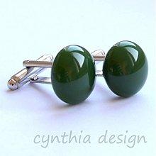 Šperky - mmmm.... - zelené -50% - 2403767