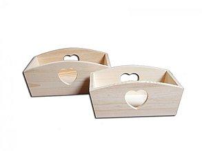 Polotovary - Zásobník so srdcom - 2406153