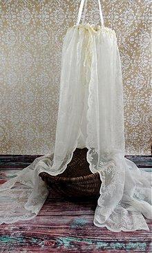 Textil - Romantický čipkovaný záves - 2406369