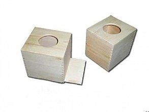 Polotovary - Zásobník na vreckovky štvorec - 2406571