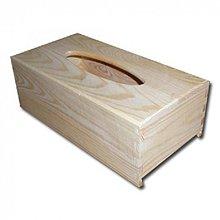 Polotovary - Zásobník na vreckovky obdĺžnik - 2406580