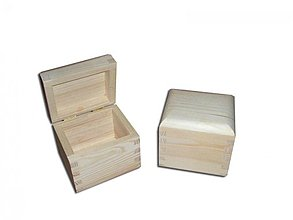 Polotovary - Krabička na čaje 1 priečinok - 2406595