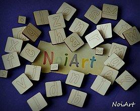 Nezaradené - ABECEDA malé písmenká, sada razítiek - 2409619
