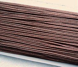 Galantéria - Šujtáš 3mm-1m (hnedá) - 2410377