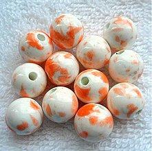 Korálky - Porcelán 12mm-1ks - 2411102