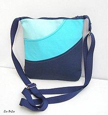 Kabelky - Modro tyrkysová - 2415505