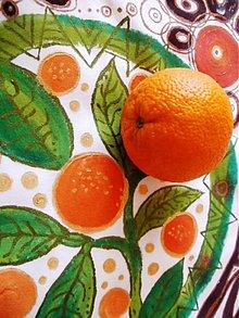Tričká - Vôňa šťavnatých pomarančov - 2417941