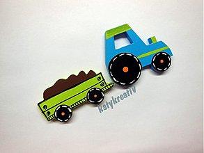 Magnetky - 13cm traktor - 2421114