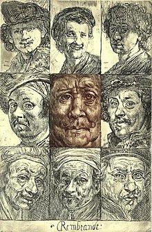 Grafika - Rembrandt - 2424125