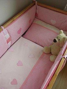 Textil - v ružovej bavlnke - 2425462