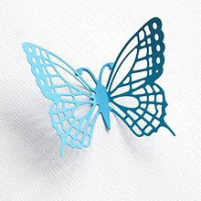 Polotovary - motýliky - dekorácia - 10 ks - 2429159