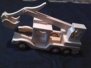 Hračky - veľký kamión s výmenou nadstavby za báger - 2430769