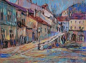Obrazy - Reprodukcia - Mesto ožilo farbami - 2431511