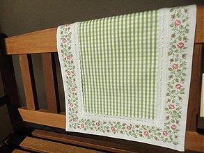 Úžitkový textil - Štóla  - Zelenkavá - - 2433279