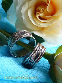Prstene - zlaté obrúčky - navždy spolu - 2434207