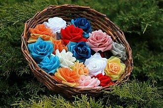 Ozdoby do vlasov - košík plný ruží - 2441295