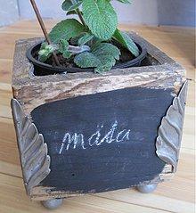 Nádoby - drevený kochlíček - 2441490