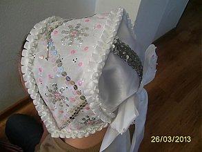 Iné doplnky - svadobný čepiec ,ale aj ku kroju - 2448732