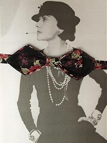 Doplnky - Motýlik À la Coco Chanel - 2451137